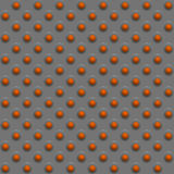 Disegno arancione della sfera Immagine Stock