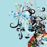 Disegno astratto creativo Immagini Stock