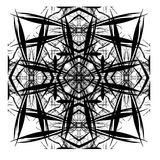 Disegno astratto decorativo di Digitahi delle mattonelle Immagini Stock