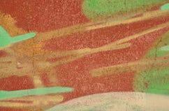 Disegno astratto dei graffiti illustrazione vettoriale
