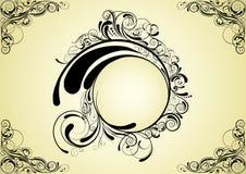 Disegno astratto del cerchio Fotografia Stock Libera da Diritti