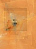 Disegno astratto del cubist Immagini Stock