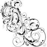 Disegno astratto del fiore Immagine Stock Libera da Diritti