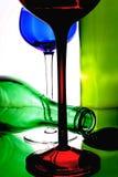 Disegno astratto del fondo del vino Fotografia Stock