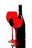 Disegno astratto del fondo del vino Immagini Stock