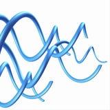 disegno astratto del vento della priorità bassa 3D illustrazione di stock