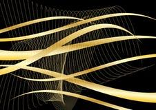 Disegno astratto dell'onda di vettore Fotografia Stock