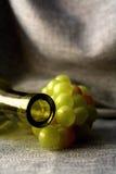 Disegno astratto della priorità bassa della cristalleria del vino Immagine Stock Libera da Diritti