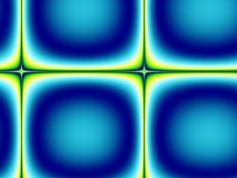 Disegno astratto delle mattonelle di verde blu Fotografie Stock