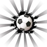 Disegno astratto di calcio royalty illustrazione gratis