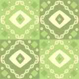 Disegno astratto verde Immagini Stock Libere da Diritti
