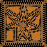 Disegno azteco Immagini Stock