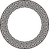 Disegno azteco circolare Immagini Stock