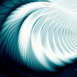 Disegno blu Fotografia Stock