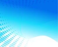 Disegno blu dell'onda Immagini Stock