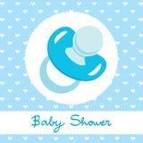 Disegno blu della tettarella Fotografie Stock
