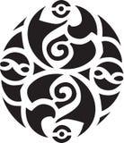 Disegno celtico irlandese Fotografia Stock
