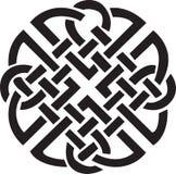 Disegno celtico irlandese Fotografie Stock