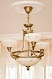 Disegno classico del lampadario a bracci Immagine Stock