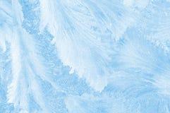 Disegno congelato del ghiaccio Immagini Stock
