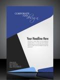 Disegno corporativo professionale dell'aletta di filatoio di ENV 10 Immagine Stock Libera da Diritti