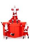 Disegno creativo del Babbo Natale Immagine Stock