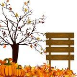 Disegno d'autunno Fotografie Stock