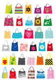 Disegno dei sacchetti di acquisto Immagine Stock Libera da Diritti
