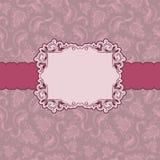 Disegno del blocco per grafici del modello per la cartolina d'auguri. royalty illustrazione gratis
