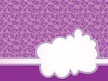 Disegno del blocco per grafici del modello per la cartolina d'auguri Fotografia Stock