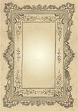 Disegno del blocco per grafici dell'annata () Fotografia Stock