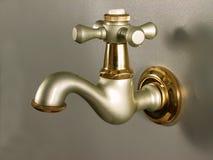 Disegno del colpetto del rubinetto dell'annata Fotografia Stock Libera da Diritti