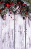 Disegno del confine di Natale fotografia stock