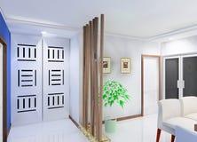 disegno del corridoio Immagini Stock