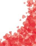 Disegno del cuore Fotografie Stock