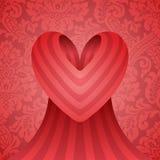 Disegno del cuore Immagine Stock