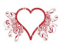 Disegno del cuore Immagini Stock Libere da Diritti
