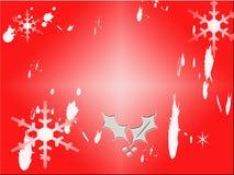 Disegno del fiocco di neve Fotografia Stock Libera da Diritti