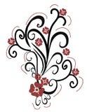 Disegno del fiore Immagine Stock