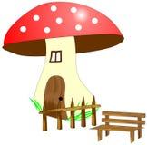 Disegno del fungo Fotografie Stock