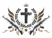 Disegno del gruppo di Grunge royalty illustrazione gratis