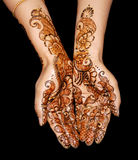 Disegno del hennè Immagini Stock Libere da Diritti