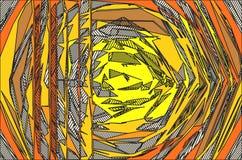Disegno del materiale illustrativo Immagini Stock