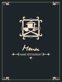 Disegno del menu Immagine Stock