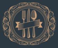 Disegno del menu Immagine Stock Libera da Diritti
