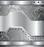 Disegno del metallo Fotografie Stock