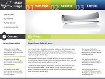 Disegno del modello di Web site Immagine Stock Libera da Diritti