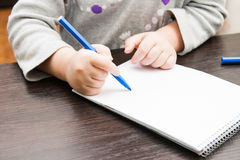 Disegno del piccolo bambino Immagine Stock Libera da Diritti
