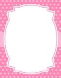 Disegno del puntino di Polka con il blocco per grafici Fotografia Stock