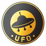 Disegno del UFO Immagine Stock